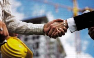 Малое предпринимательство в строительной отрасли