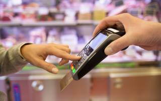 Устройство для оплаты банковскими картами