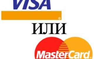 Виза чья платежная система