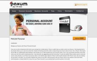 Paxum платежная система