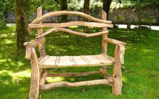 Изготовление садовой мебели как бизнес