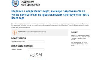 ФНС проверка задолженности по ИНН
