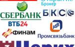 Лучшие брокеры России на фондовом рынке