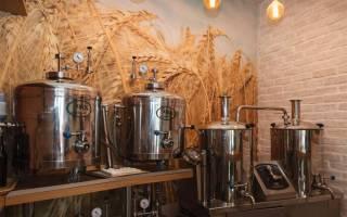Собственная пивоварня как бизнес