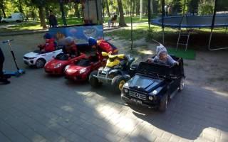 Открыть малый бизнес прокат детских электромобилей