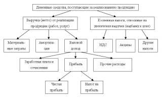 Какие виды деятельности предприятия формируют выручку?