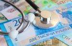 Налог с оплаты больничного листа