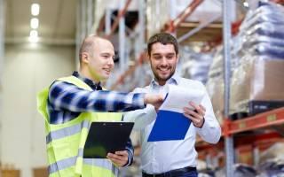 Складской учет на производственном предприятии